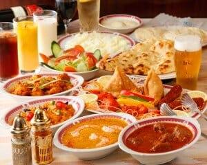 北インド料理のイメージ画像。