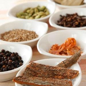 ホンモノ のインド料理のイメージ画像。