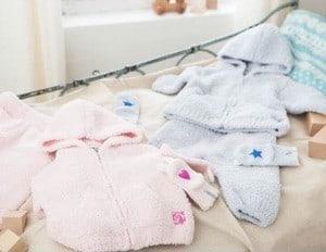 出産祝い商品のイメージ画像。