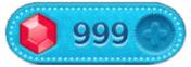 ツムツムのルビーが999個無料画像。