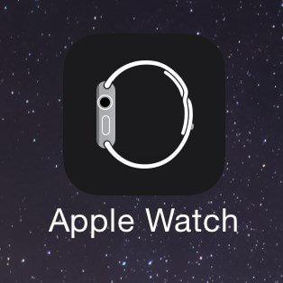 AppleWatchの同期方法のイメージ画像。