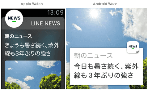 LINENEWSのイメージ画像。