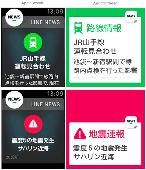 地震や電車の遅延の気になる情報のイメージ画像。