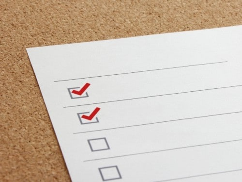 Checklistのイメージ画像。