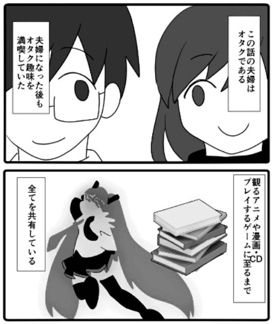 『オタクと腐女子の夫婦生活』(佐藤にいる)の紹介