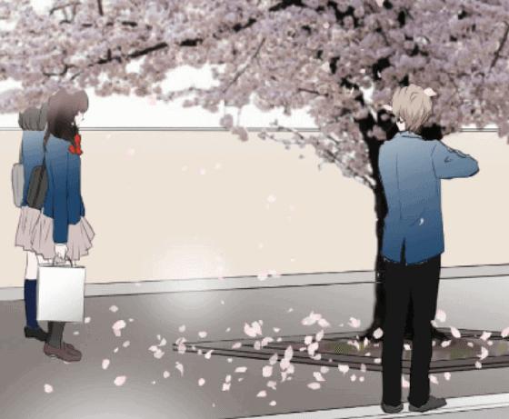 『桜の季節には』(杏)のワンシーン